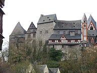 """Burg Limburg"" by Oliver Abels (SBT) - Own work. Licensed under CC BY 2.5 via Wikimedia Commons - https://commons.wikimedia.org/wiki/File:Burg_Limburg.jpg#/media/File:Burg_Limburg.jpg"