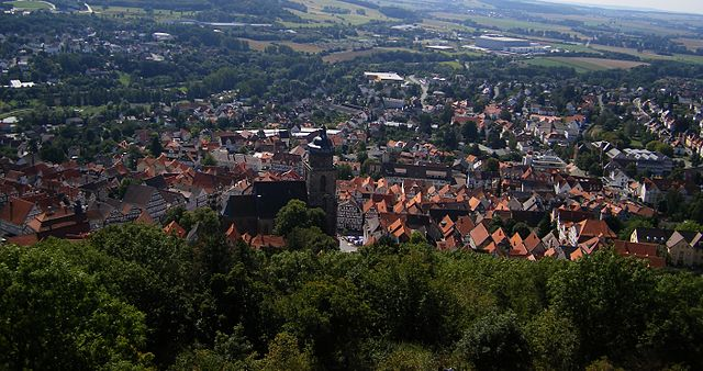 """Blick über die Stadt, Homberg Efze"" by Dr. Klaus Lambrecht - Own work. Licensed under CC BY-SA 3.0 via Wikimedia Commons - https://commons.wikimedia.org/wiki/File:Blick_%C3%BCber_die_Stadt,_Homberg_Efze.jpg#/media/File:Blick_%C3%BCber_die_Stadt,_Homberg_Efze.jpg"