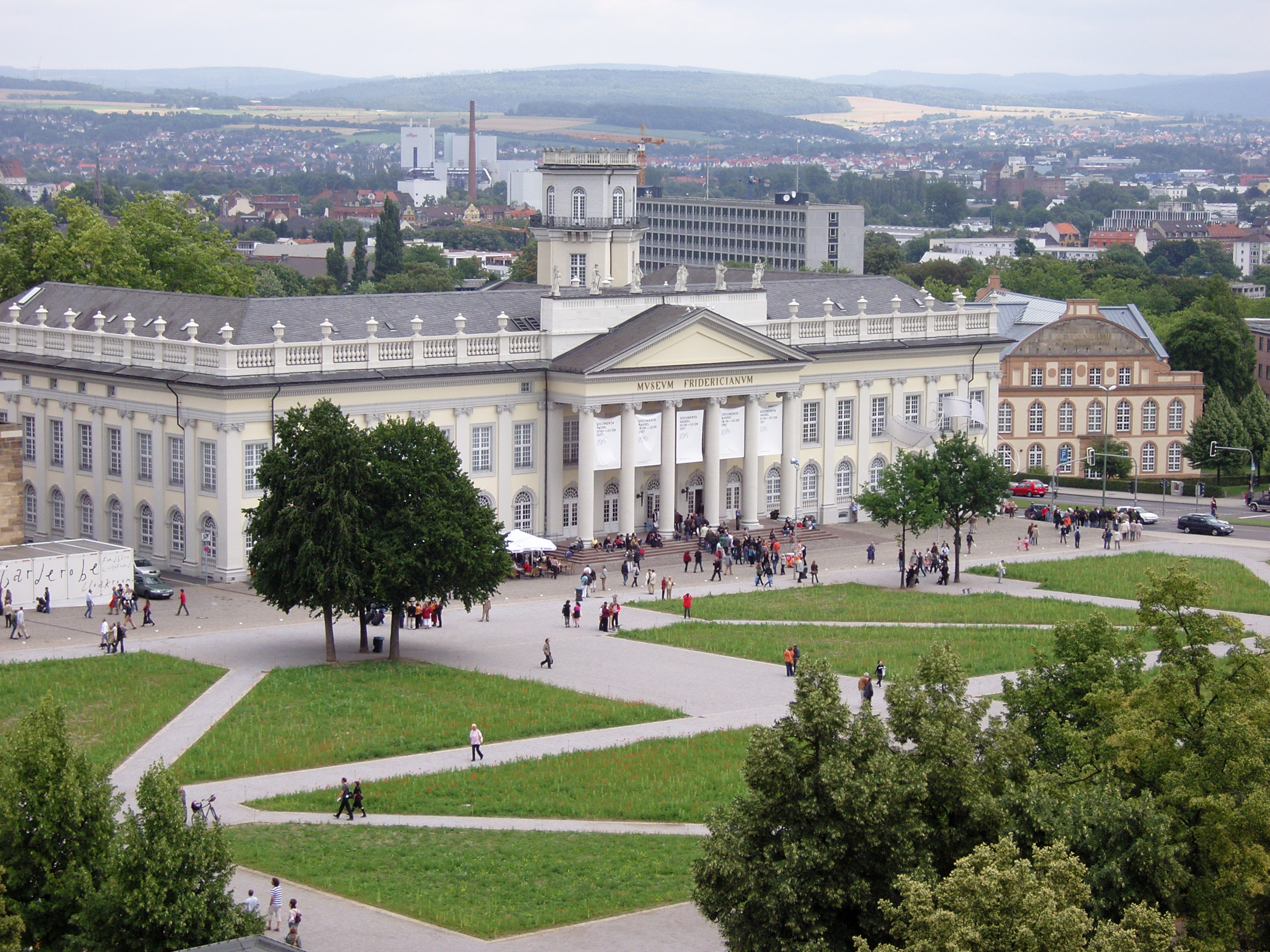 """Fridericianum-d12"" by I, Carroy. Licensed under CC BY-SA 3.0 via Wikimedia Commons - https://commons.wikimedia.org/wiki/File:Fridericianum-d12.JPG#/media/File:Fridericianum-d12.JPG"